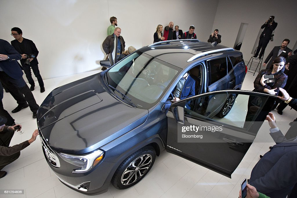 Preparations Ahead Of The 2017 North American International Auto Show (NAIAS) : News Photo
