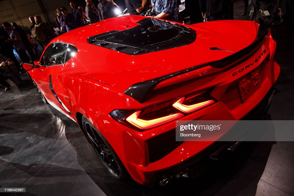 Inside The Next Gen Corvette Reveal Event : News Photo