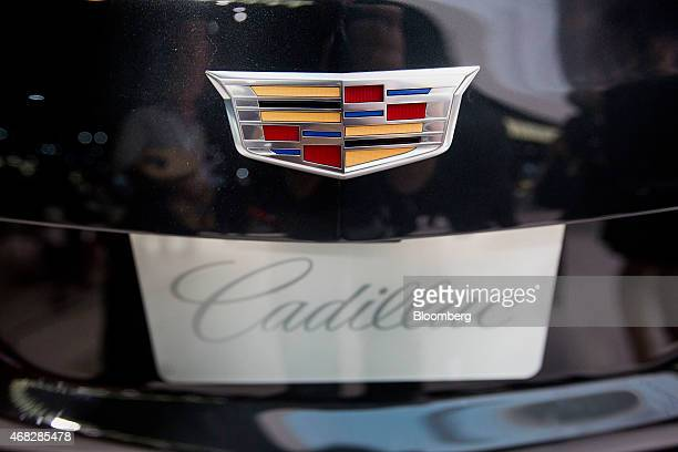 Cadillac Logo Pictures And Photos Getty Images