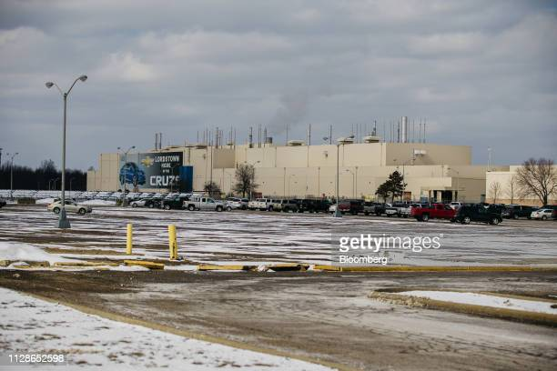 The General Motors Co Lordstown production plant complex stands in Lordstown Ohio US on Monday March 4 2019 The United Auto Workers union in a...