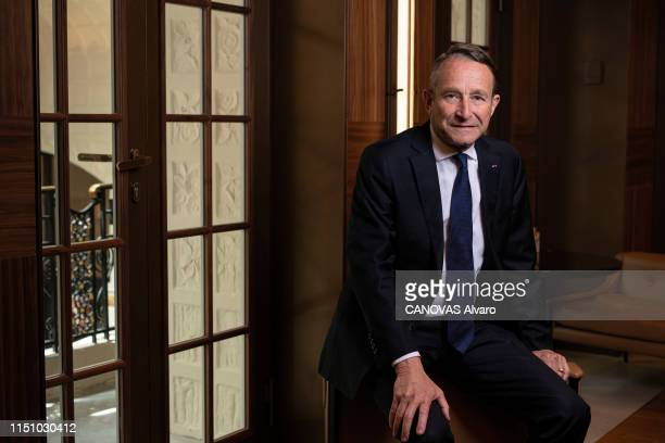 The General Pierre de Villiers is photographed for Paris Match on May 29 2019 in Paris France