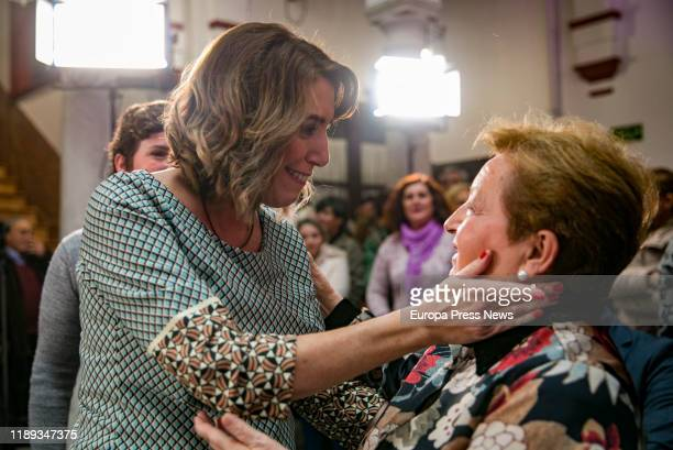 The general secretary of PSOE Andalucia, Susana Diaz , is seen during the International Day Against Gender Violence Event and the presentation of the...
