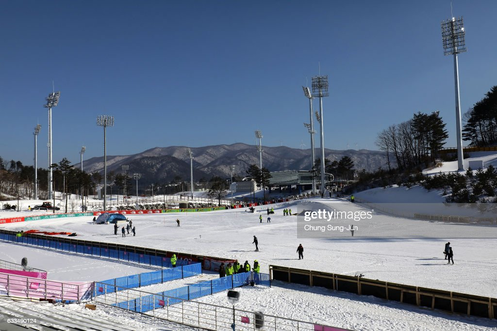 Venues And Townscape Ahead Of PyeongChang 2018 Winter Olympic Games : ニュース写真