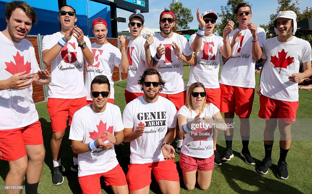 Off Court At The 2015 Australian Open : News Photo