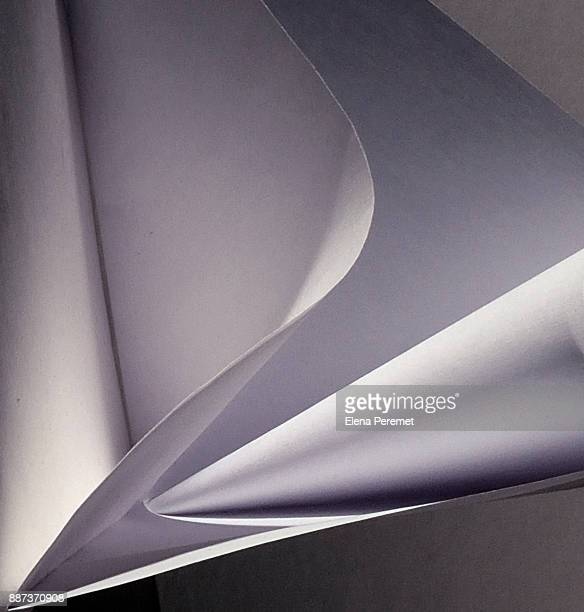 The geometry of the paper