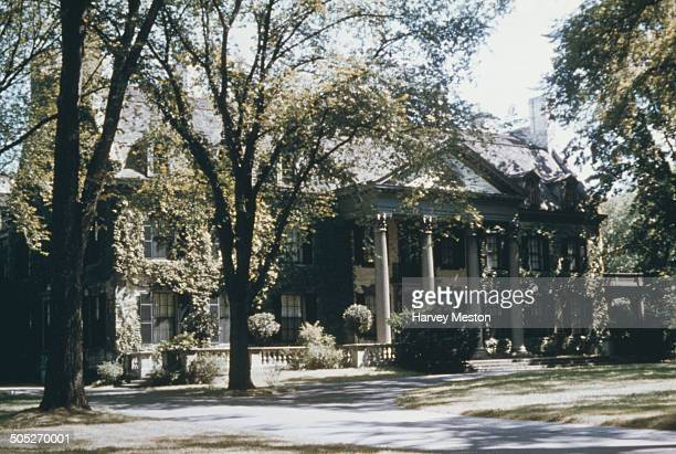The George Eastman House in Rochester New York State USA circa 1965 It is a photography museum and film archive as well as the former home of George...