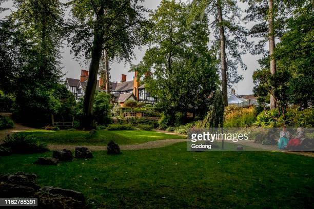 The George Harrison garden, Bhaktivedanta manor, Watford, U.K.