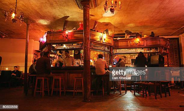 The George Tavern on March 29 2008 in London England The well known music venue frequented by many stars including the Rolling Stones Justin...
