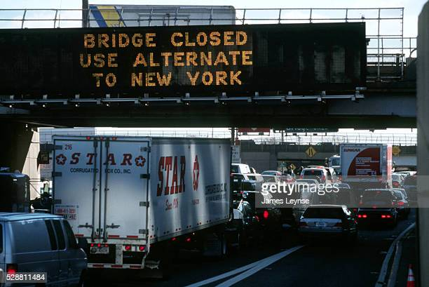 The George Washington Bridge was closed due to the crash of American Airlines Flight 587 in Queens near JFK airport. The jetliner was en route to the...