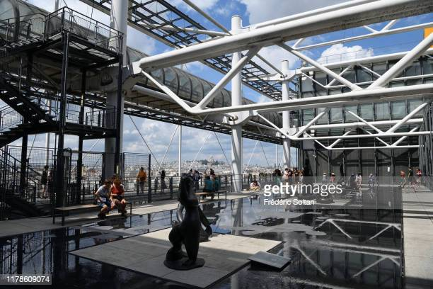 September 15 : The Georges Pompidou Center in Paris on September 15, 2019 in Paris, France.