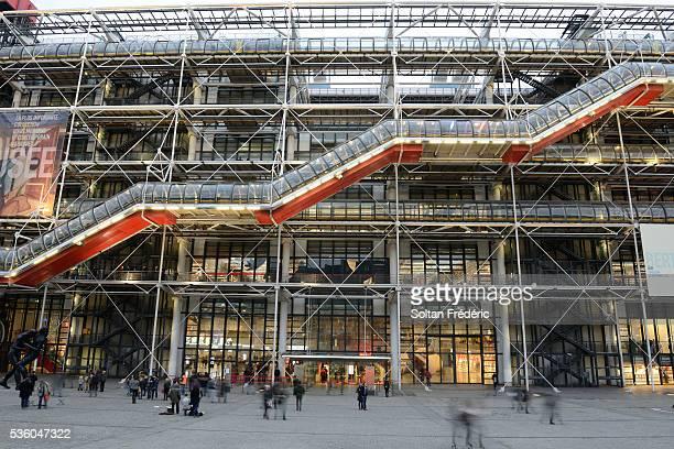 The Georges Pompidou Center in Paris