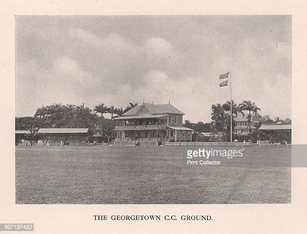 The Georgetown Cricket Club Ground British Guiana 1910 From Imperial Cricket edited by P F Warner and published by The London and Counties Press...