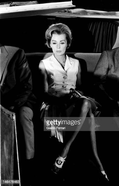 The german actress Lilli Palmer in Madrd Madrid Spain