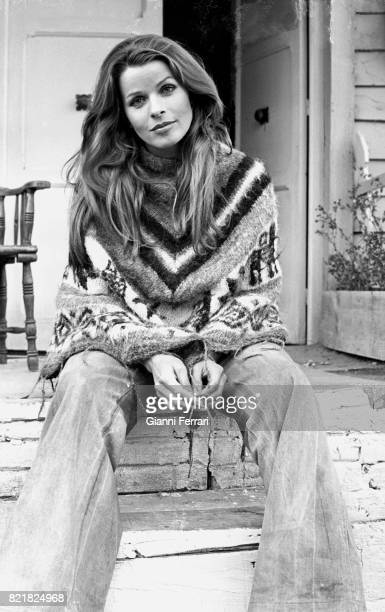 The German actress Senta Berger 1972 Madrid Spain