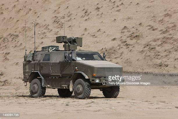 The German Army ATF Dingo armored vehicle.