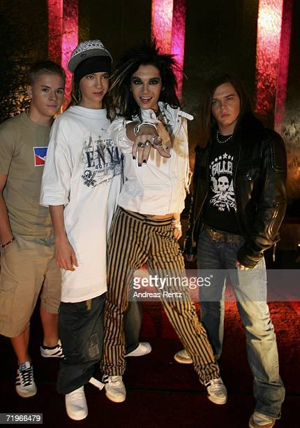 The German boy group Tokio Hotel attends the Music Meets Media event at the Esplanade Hotel on September 21 2006 in Berlin Germany