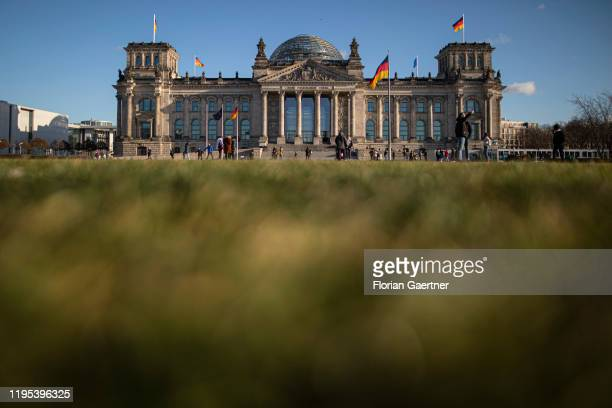 The German Bundestag is pictured on January 10 2020 in Berlin Germany