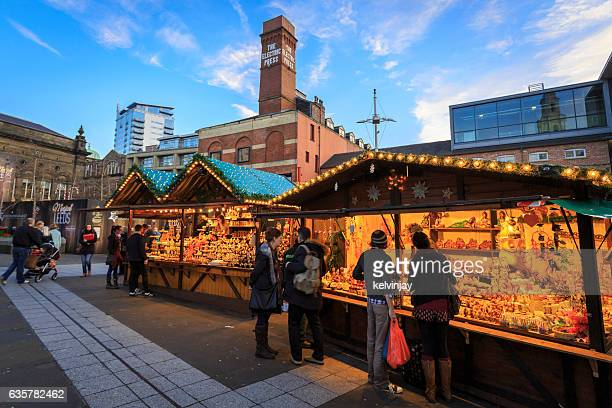 The German Christmas Market in Leeds