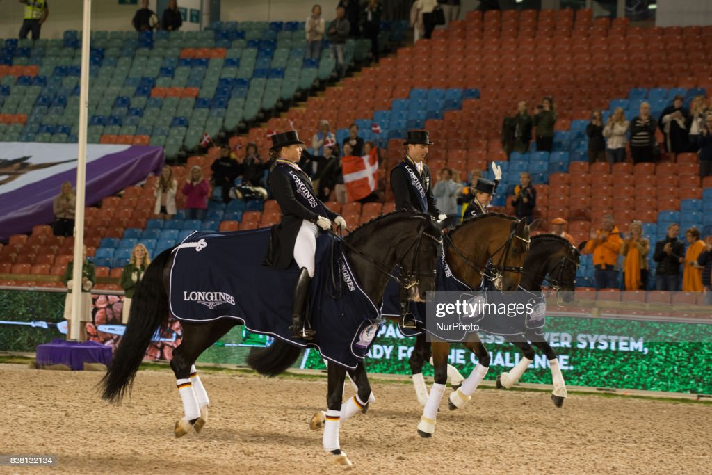 Qualifying Jumping Competition at 2017 FEI European Championships in Gothenburg
