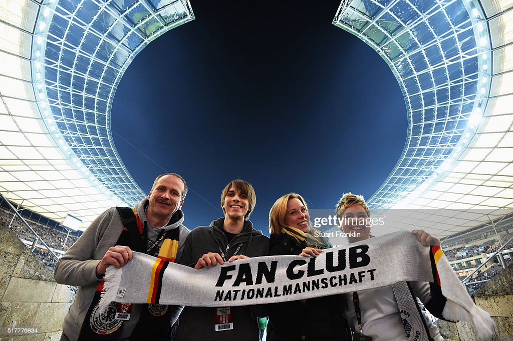 The German Fan Club 'Fantastic' tour prior to the international friendly match between Germany and England at Olympiastadion on March 26, 2016 in Berlin, Germany.
