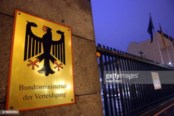 The German federal defense ministry is seen on May 4 2017 in Berlin Germany After initially blaming weak military leadership German Defense Minister...