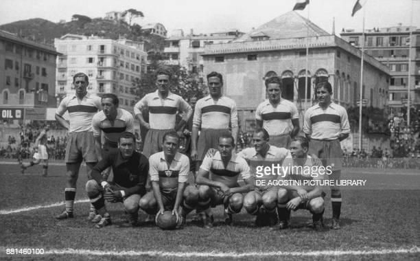 The German national football team B before the match with Italy Luigi Ferraris Stadium May 22 Genoa Italy 20th century