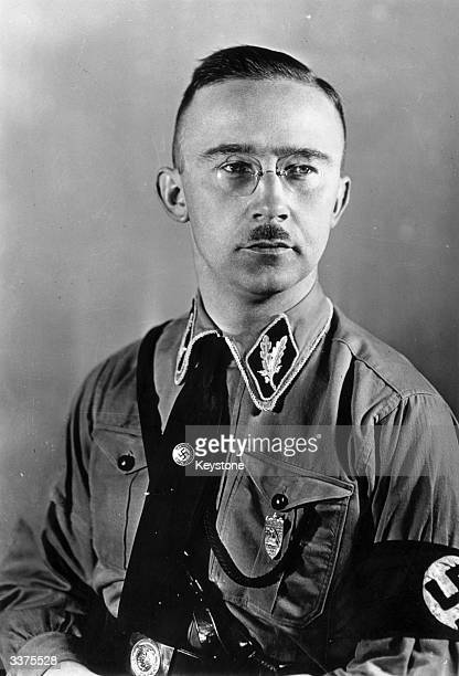 The german Nazi official and chief of the Schutzstaffel Heinrich Himmler