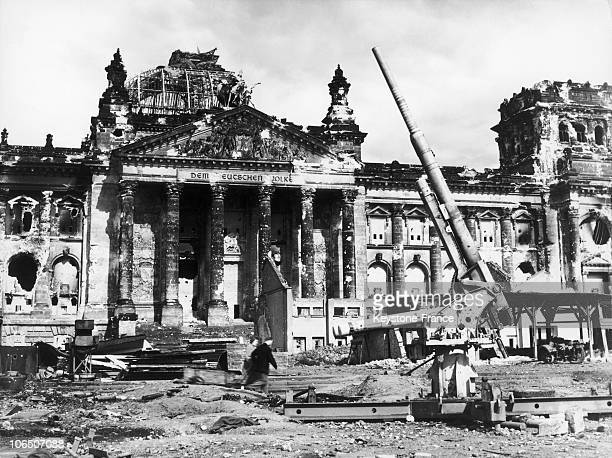 The German Parliament After The German Surrender