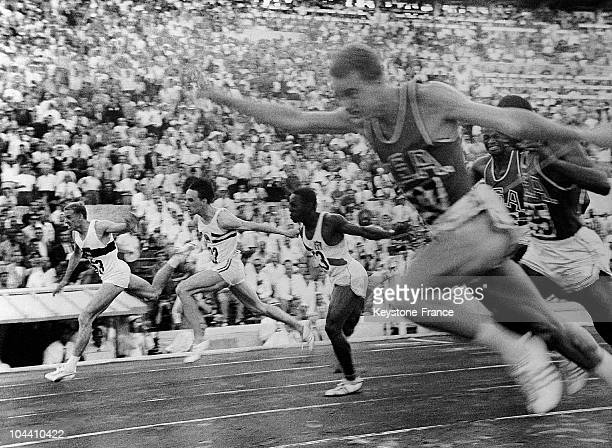 The German runner Armin HARRY won the 100m sprinting event in less than 10 seconds during the Olympic Games of Rome in July 1960