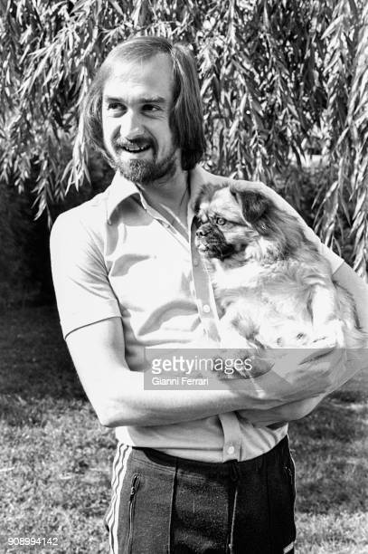 The German soccer player Uli Stielike at Real Madrid for 12 years Madrid Spain