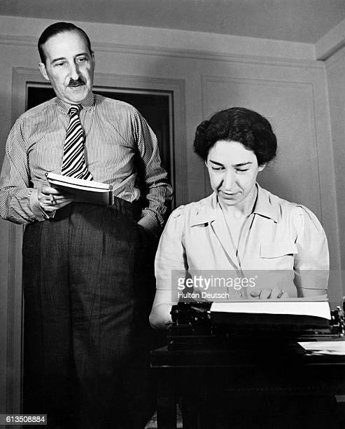 The German socialist writer Stefan Zweig with his wife Elisabeth ca 19201930