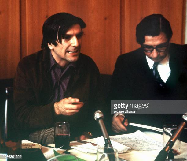 The German student leader Rudi Dutschke member of the Socialist German Student Union and leading head of the ExtraParliamentary Opposition in Germany...