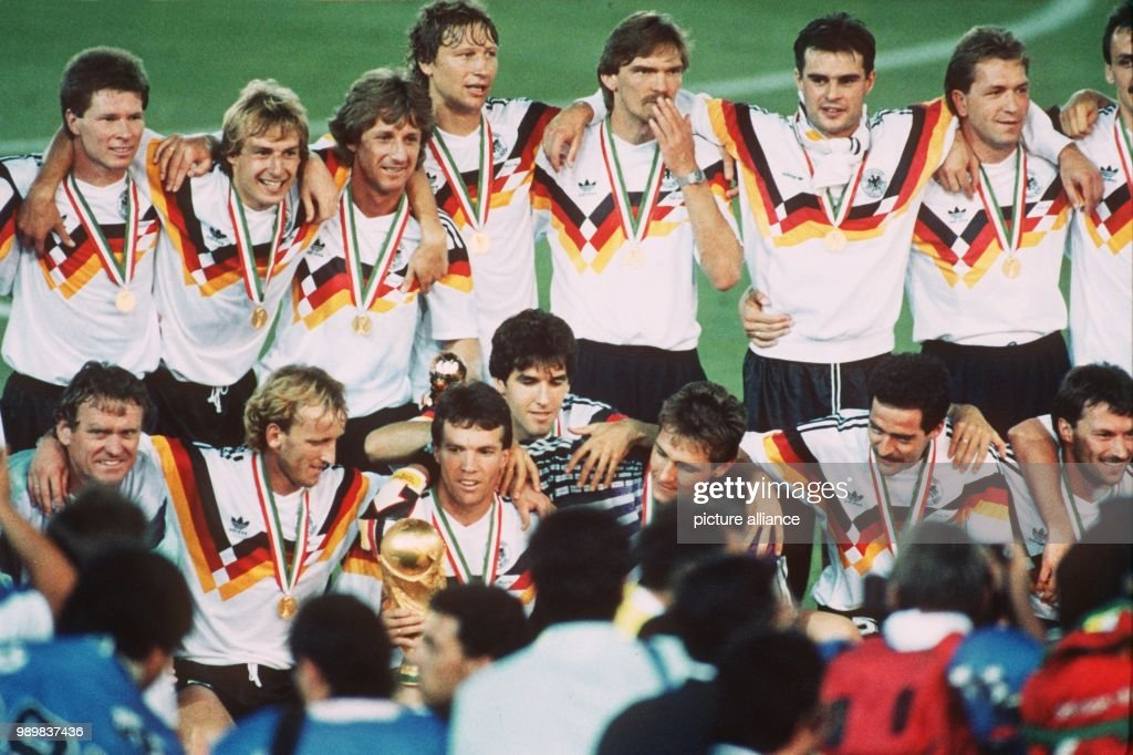 Soccer World Cup 1990: Germany is World Champion : News Photo