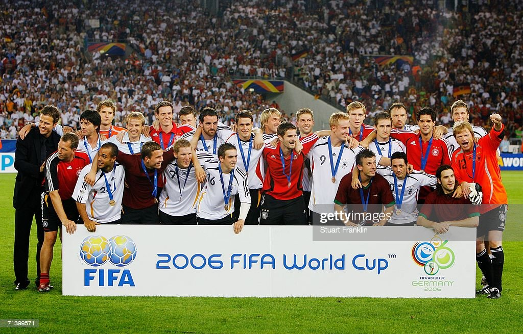 Third Place Play-off Germany v Portugal - World Cup 2006 : ニュース写真