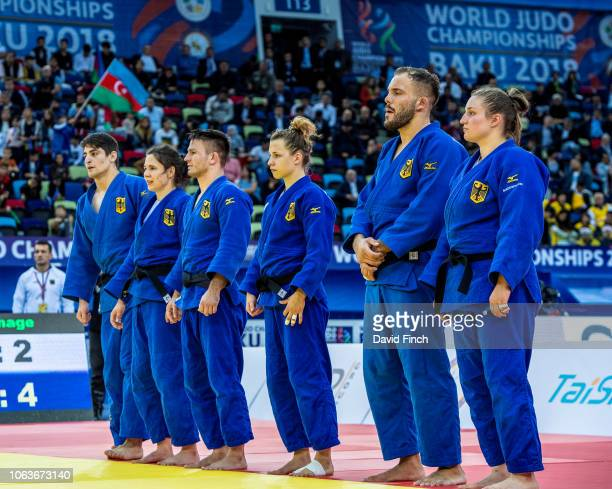 The German team of Eduard Trippel Laura Vargas Koch Dominic Ressel Theresa Stoll KarlRichard Frey and Carolin Weiss defeated the Brazil team by by 24...
