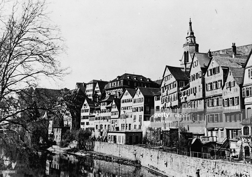 Town of Tubingen : News Photo