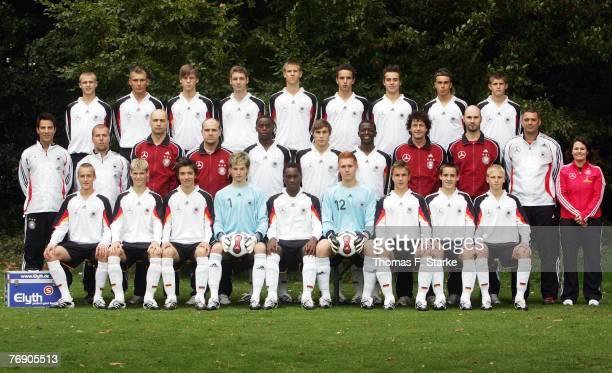 The German U16 National Team Alexander Merkel Tim Scheffler Gerrit Nauber Markus Ziereis Tommy Gruppe Robert Labus Pascal Breier Kevin Feiersinger...