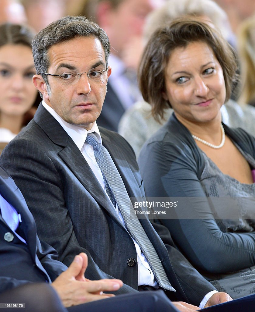 The German Iranian Author Navid Kermani And His Wife The News Photo Getty Images