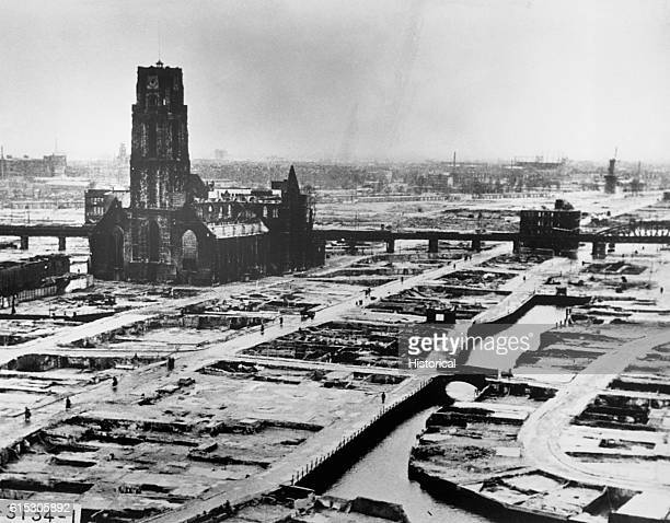 The Germans sent an ultimatum to the Dutch commander of Rotterdam to cease fire at 1030am on May 14 1940 At 122pm German bombers set the whole city...