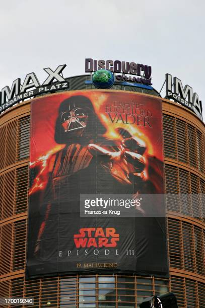 The Germany premiere of Star Wars Episode Iii Revenge of the Sith the theater at Potsdamer Platz in Berlin