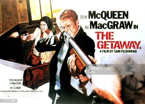 The Getaway poster Ali MacGraw Steve McQueen 1972
