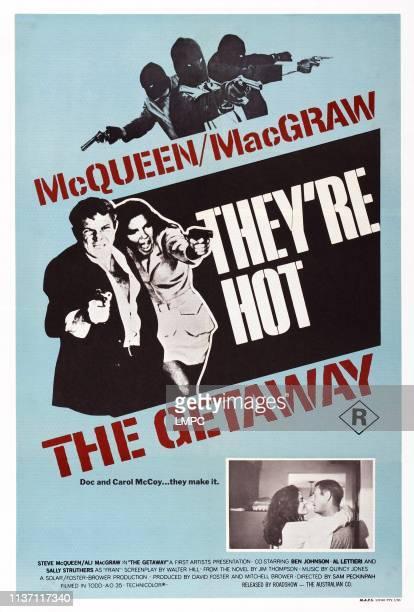 The Getaway poster US poster art from left Ali MacGraw Steve McQueen 1972