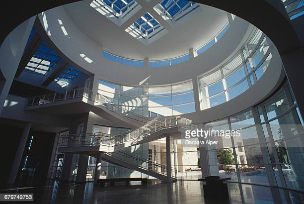 The Getty Center part of the J Paul Getty Museum in Los Angeles California USA 1997