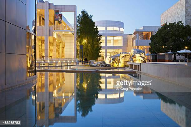 the getty center - j. paul getty museum stock pictures, royalty-free photos & images