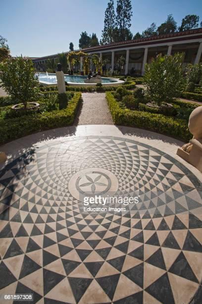The Getty Villa Outer Peristyle Malibu California