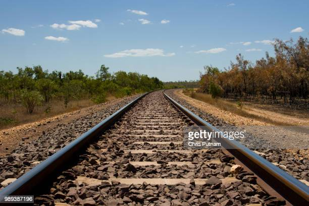 the ghan near darwin - chris putnam stock pictures, royalty-free photos & images