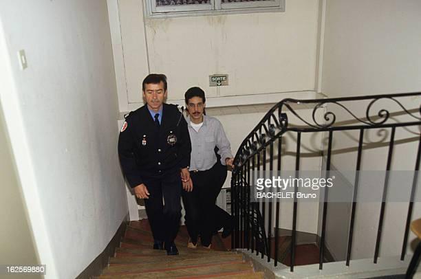 Omar Raddad Arrive At The Judge A Mougins le 23 juin 1991 Ghislaine MARCHAL est assassinée dans sa villa 'La Chamade' le jardinier Omar RADDAD est...