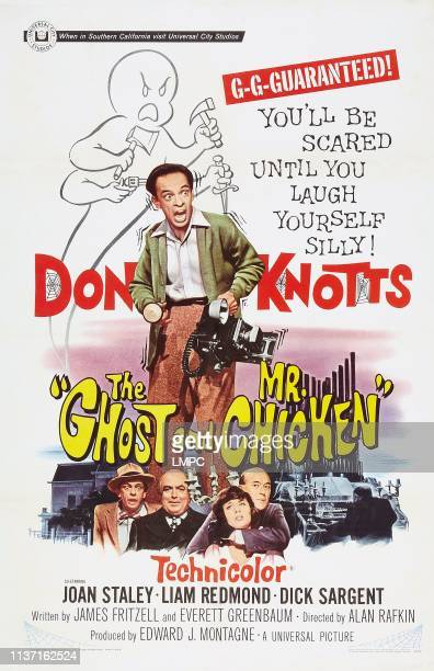 The Ghost And Mr Chicken posterThe Ghost And Mr Chicken Don Knotts Don Knotts Liam Redmond Joan Staley Philip Ober 1966
