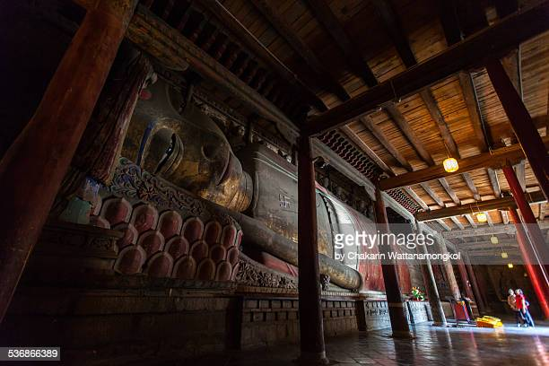 The Giant Reclining Buddha of Zhangye