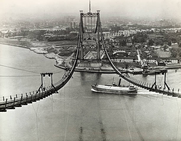 Building Of The Triborough Bridge Pictures Getty Images